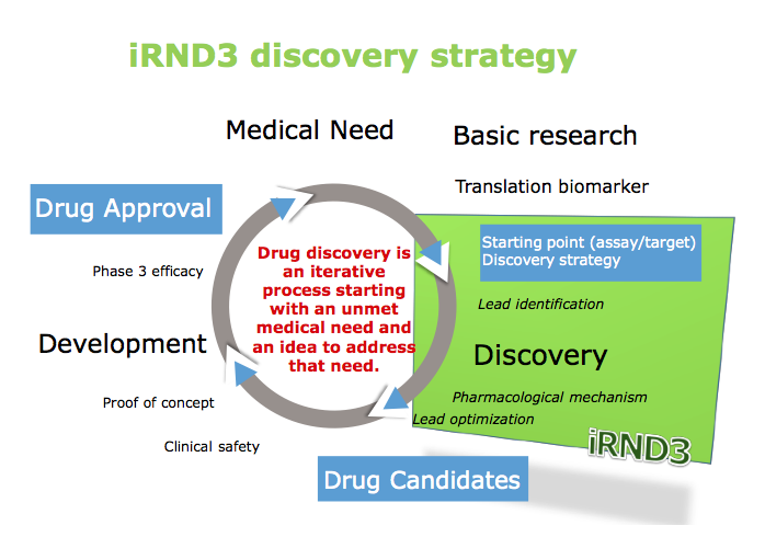 iRND3 discovery strategy